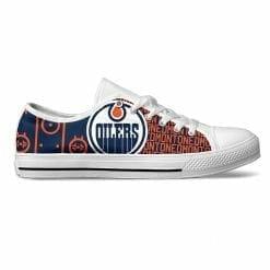 NHL Edmonton Oilers Low Top Shoes