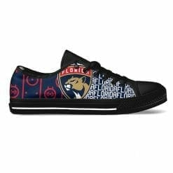NHL Florida Panthers Low Top Shoes