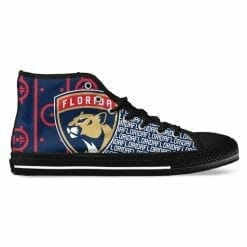 NHL Florida Panthers High Top Shoes
