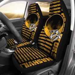 NHL Nashville Predators Pair of Car Seat Covers