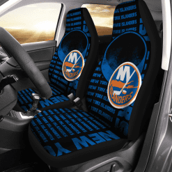 NHL New York Islanders Pair of Car Seat Covers