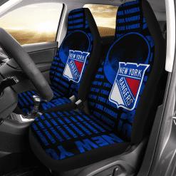 NHL New York Rangers Pair of Car Seat Covers