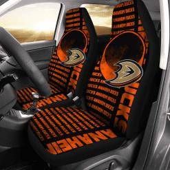 NHL Anaheim Ducks Pair of Car Seat Covers