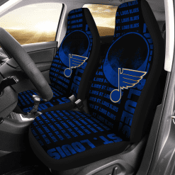 NHL St. Louis Blues Pair of Car Seat Covers