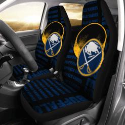 NHL Buffalo Sabres Pair of Car Seat Covers