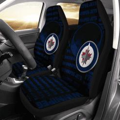 NHL Winnipeg Jets Pair of Car Seat Covers