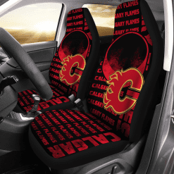NHL Calgary Flames Pair of Car Seat Covers