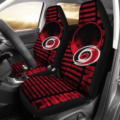 NHL Carolina Hurricanes Pair of Car Seat Covers