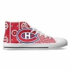 NHL Montreal Canadiens High Top Shoes