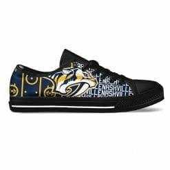 NHL Nashville Predators Low Top Shoes