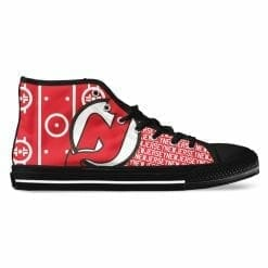 NHL New Jersey Devils High Top Shoes