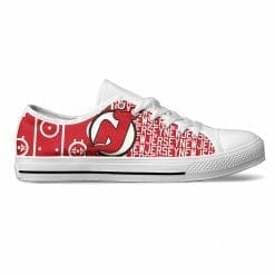 NHL New Jersey Devils Low Top Shoes