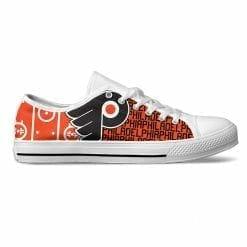 NHL Philadelphia Flyers Low Top Shoes