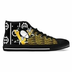 NHL Pittsburgh Penguins High Top Shoes