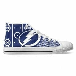 NHL Tampa Bay Lightning High Top Shoes