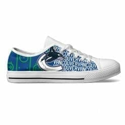 NHL Vancouver Canucks Low Top Shoes