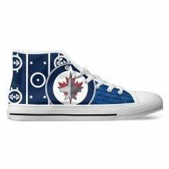 NHL Winnipeg Jets High Top Shoes