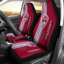 MLS Colorado Rapids Pair of Car Seat Covers