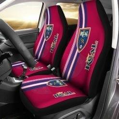 MLS Real Salt Lake Pair of Car Seat Covers
