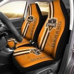 MLS Houston Dynamo Pair of Car Seat Covers