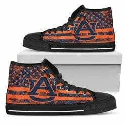 NCAA Auburn Tigers High Top Shoes