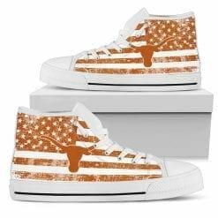 NCAA Texas Longhorns High Top Shoes