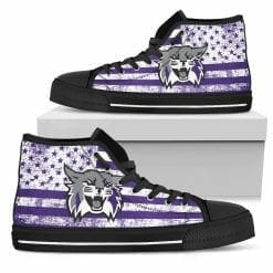 NCAA Weber State Wildcats High Top Shoes