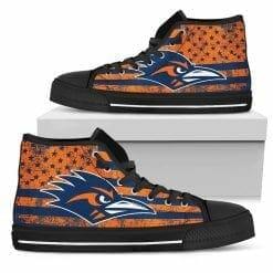 NCAA UTSA Roadrunners High Top Shoes
