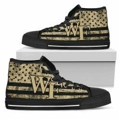 NCAA Wake Forest Demon Deacons High Top Shoes