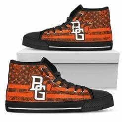NCAA Bowling Green Falcons High Top Shoes