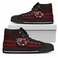 NCAA South Carolina Gamecocks High Top Shoes