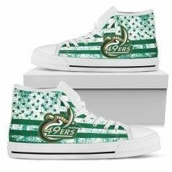 NCAA Charlotte 49ers High Top Shoes