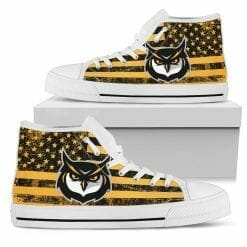 NCAA Kennesaw State Owls High Top Shoes