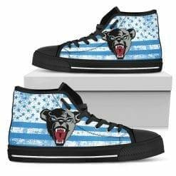 NCAA Maine Black Bears High Top Shoes