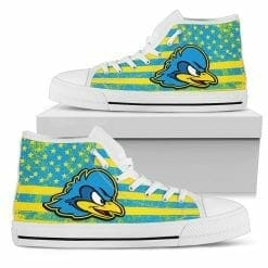 NCAA Delaware Fightin' Blue Hens High Top Shoes