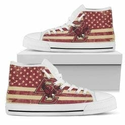 NCAA Boston College Eagles High Top Shoes