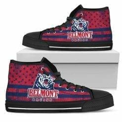 NCAA Belmont Bruins High Top Shoes