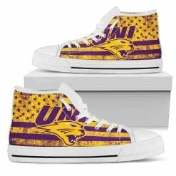 NCAA Northern Iowa Panthers High Top Shoes