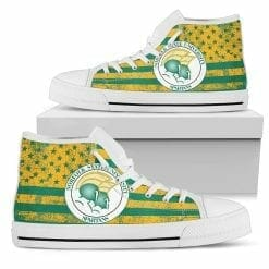 NCAA Norfolk State Spartans High Top Shoes