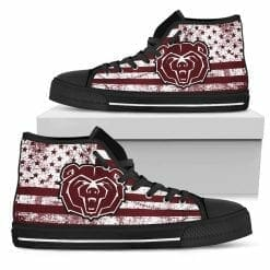 NCAA Missouri State Bears High Top Shoes