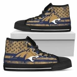 NCAA Montana State Bobcats High Top Shoes