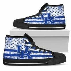 NCAA Kentucky Wildcats High Top Shoes