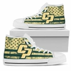 NCAA Cal Poly Mustangs High Top Shoes