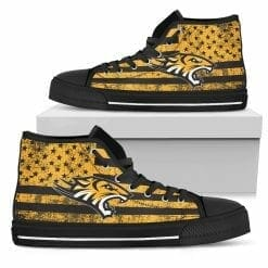 NCAA Towson Tigers High Top Shoes