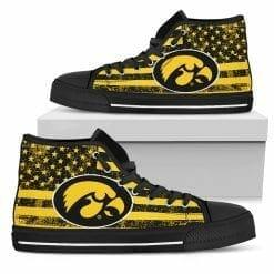 NCAA Iowa Hawkeyes High Top Shoes