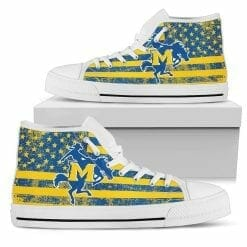 NCAA McNeese State Cowboys High Top Shoes