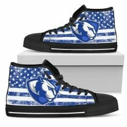 NCAA Eastern Illinois Panthers High Top Shoes