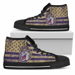 NCAA James Madison Dukes High Top Shoes