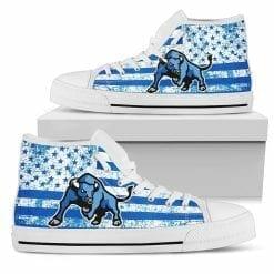 NCAA Buffalo Bulls High Top Shoes