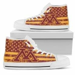 NCAA Minnesota Golden Gophers High Top Shoes